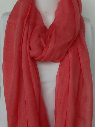 Modal Scarf Girly Pink
