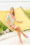 Daphne Dress Grecian Bright