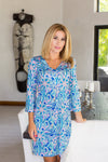 Kalido Dress Sanibel Blue