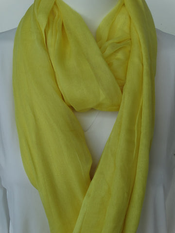 Modal Scarf Lemon