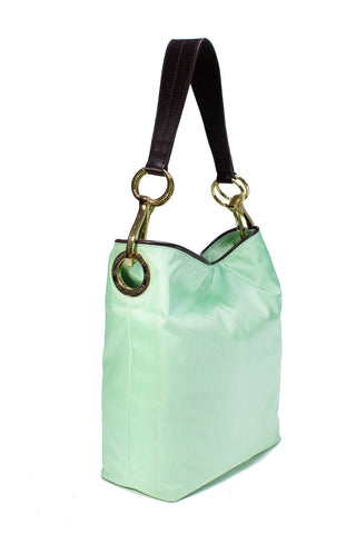 Nylon Bucket Bag Mint