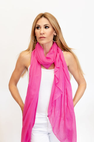 Modal Scarf Fairy Pink