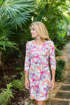 Daphne Dress Sultry Garden