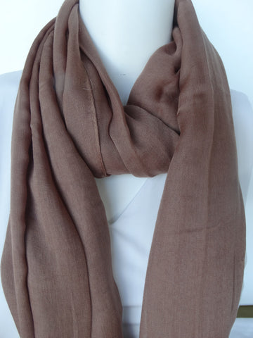 Modal Scarf Taupe
