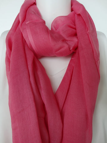Modal Scarf Lace Pink