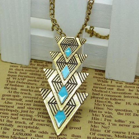Charm Pendant Chain Crystal Choker Chunky Statement Bib Necklace Fashion Jewelry