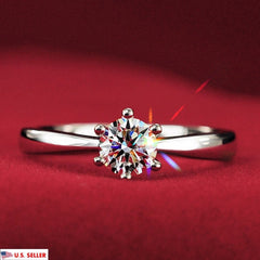 Jewelry & Watches:Engagement & Wedding:Engagement Rings:CZ, Moissanite & Simulated