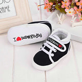 USA Toddler Newborn Shoes Baby Infant Kids Boy Girl Soft Sole Canvas Sneaker