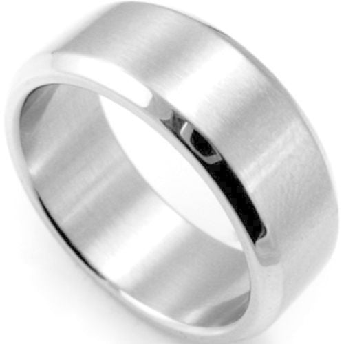 USA 6MM Silver Stainless Steel Men Women Brushed comfort Fit Wedding Ring Band
