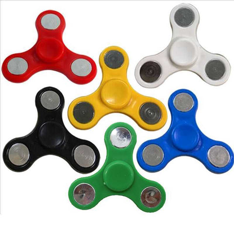Fidget Spinner Tri Fidget Finger Hand Spinner Rotation For EDC DCHD Stress