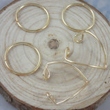 5PCS/Set Women Gold Silver Plated Above Knuckle Finger Ring Band Midi Rings