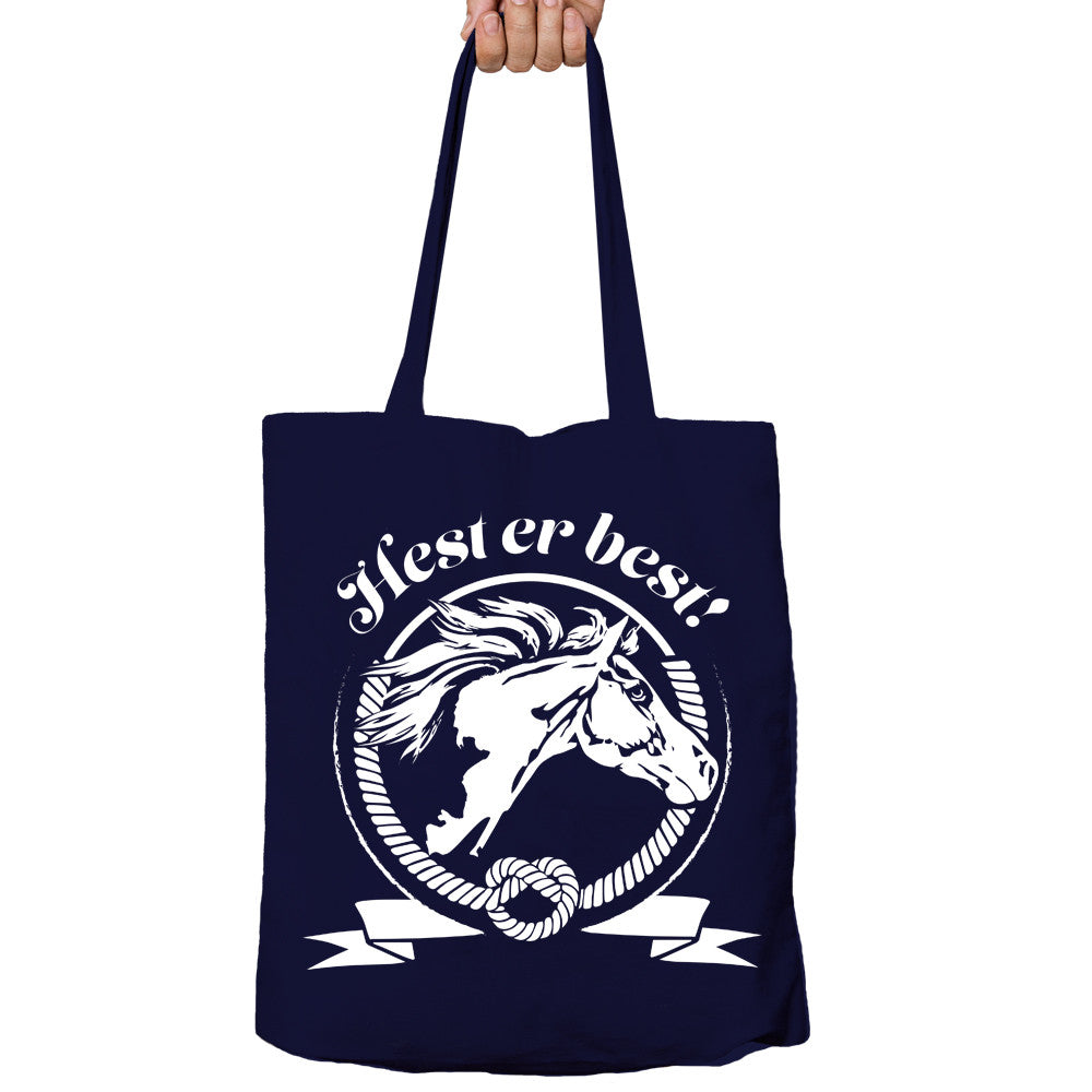 Hest Er Best Tote-bag