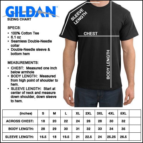 aircraft mechanic shirt size chart