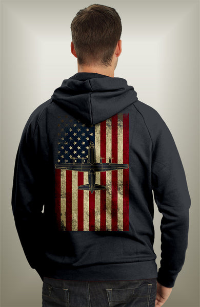 four fans of freedom hoodie