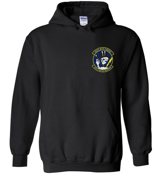 Epic 95th Fighter Squadron F-22 Hoodie