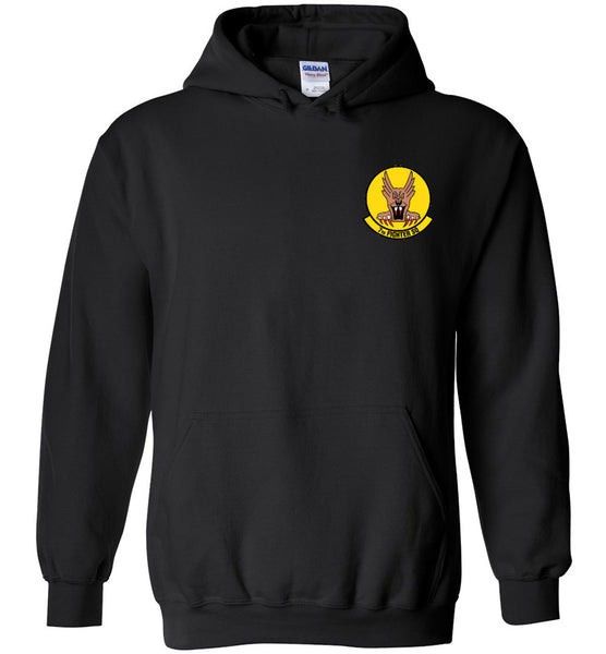 7th Fighter Squadron F-22 Patriotic Unisex Hoodie