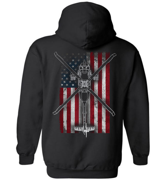 Night Stalkers Don't Quit MH-60L Hoodie for Aviation Fanatics