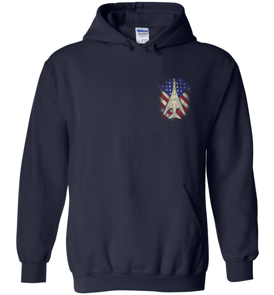 Awesome B-1B Veteran Flag Hoodie