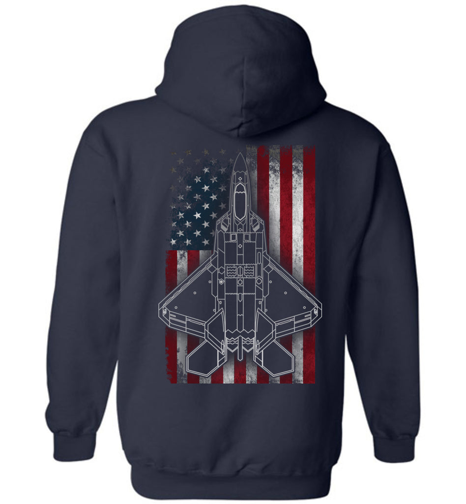 Epic 27th Fighter Squadron F22 Hoodie