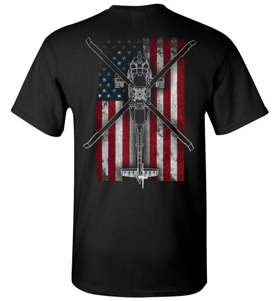 Night Stalkers Don't Quit MH-60L Shirt for Aviation Fanatics