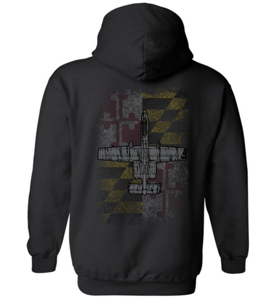 175th Maryland Flag Hoodie