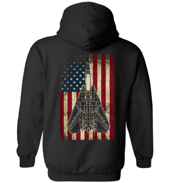 Awesome F-14 Display Flag Hoodie