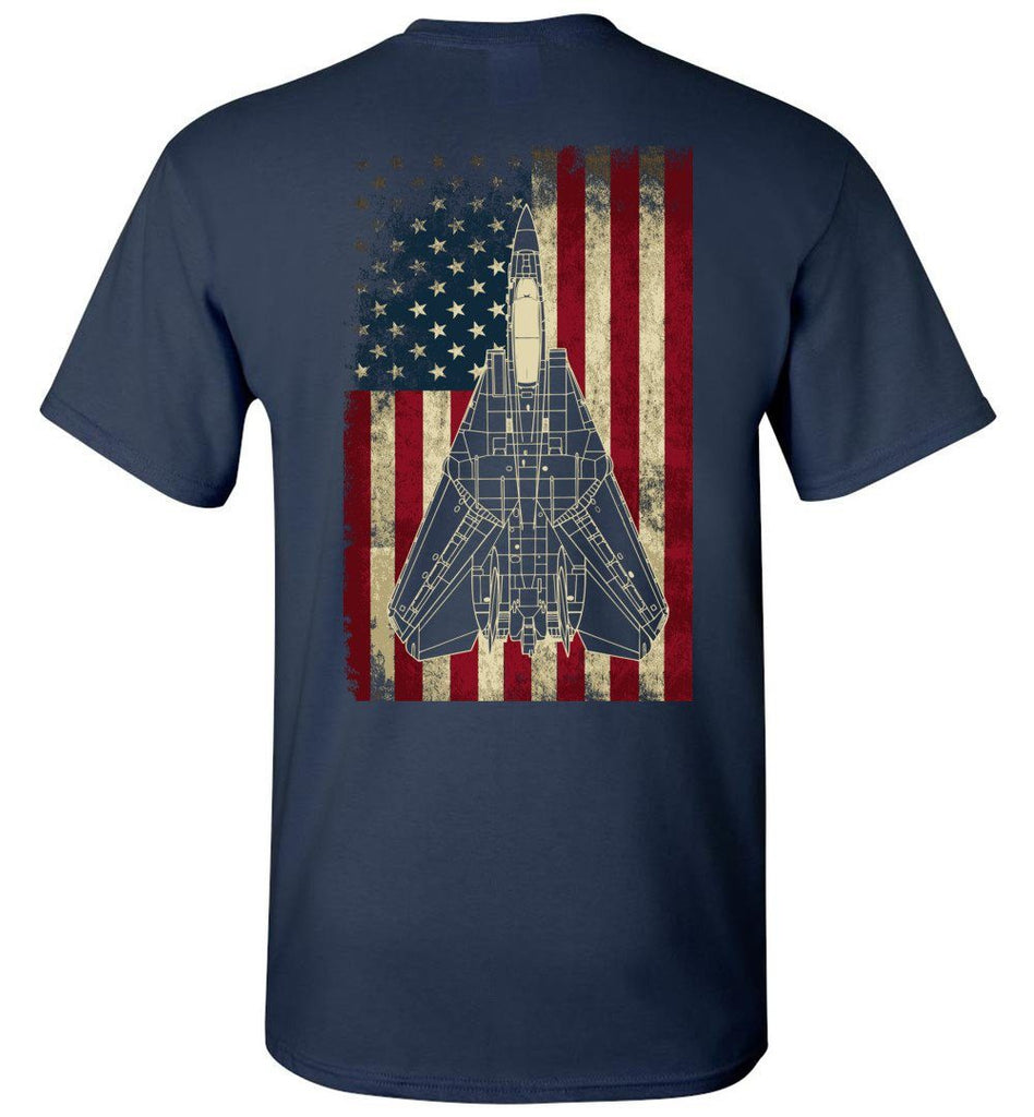 Awesome F-14 Display Flag Shirt