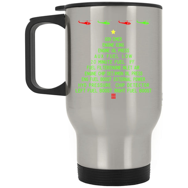 Drinkware - Awesome Huey Caution Advisory Christmas Travel Mug