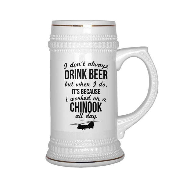 Drinkwear - Awesome CH-47 Chinook Beer Stein!