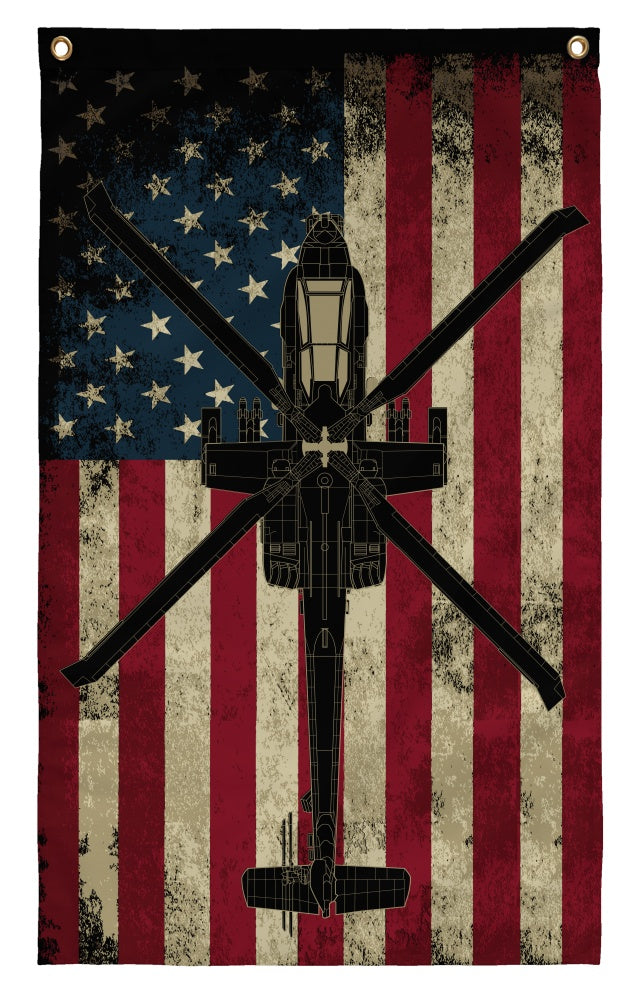 Flags - AH-64 Apache Wall Flag