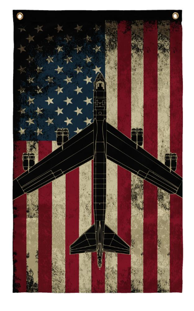 Awesome 3x5ft B 52 Vintage Flag Aircraft Mechanic Shirts Com
