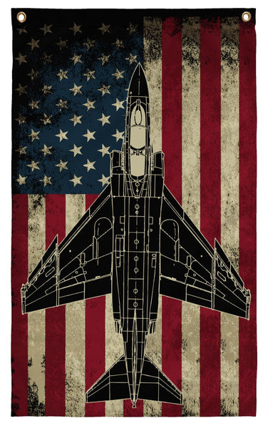 Flags - Awesome F-4 Phantom II Display Flag