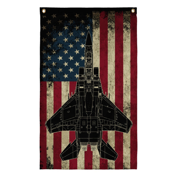 Flags - F-15E Vintage Flag