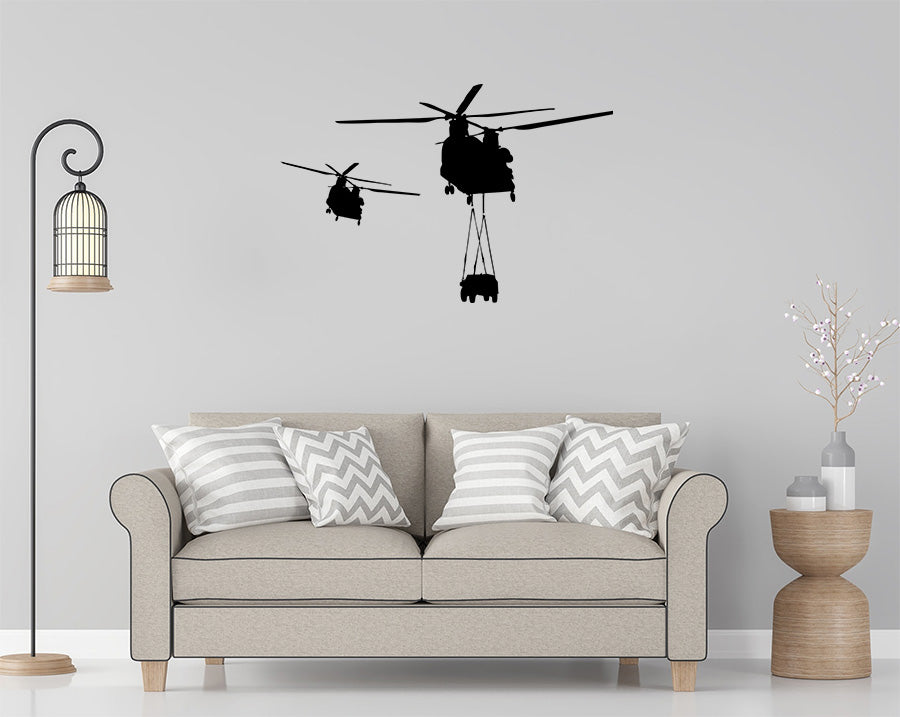 Awesome CH-47 Wall Decal Set