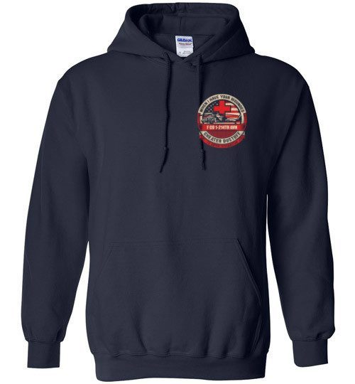 T-shirt - 1-214th AVN Dustoff Black Hawk Hoodie