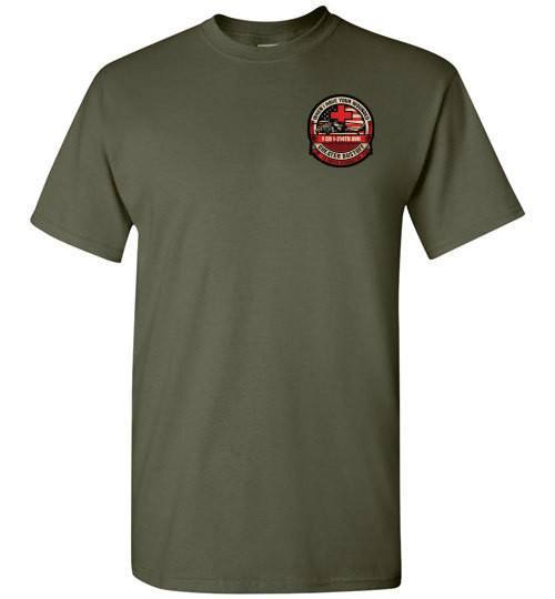 T-shirt - 1-214th AVN Dustoff Tan Tee