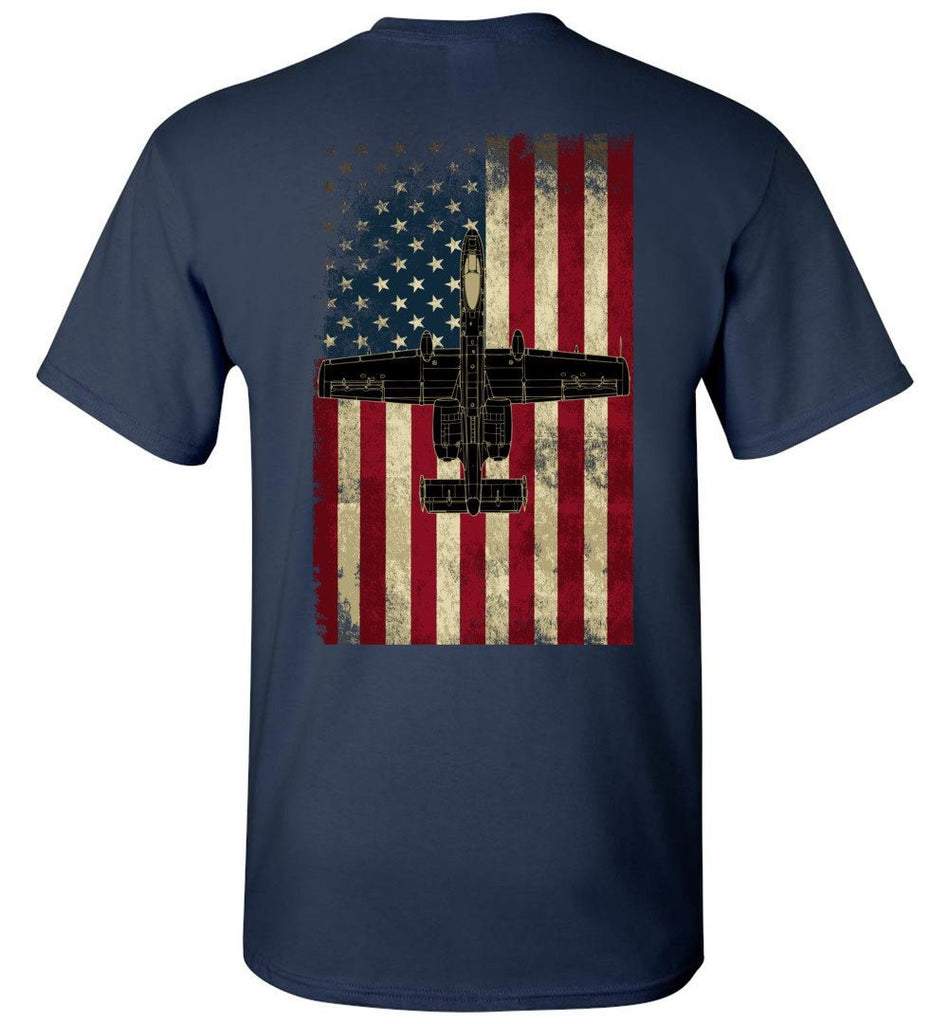 T-shirt - 175th Vintage Warthog Flag