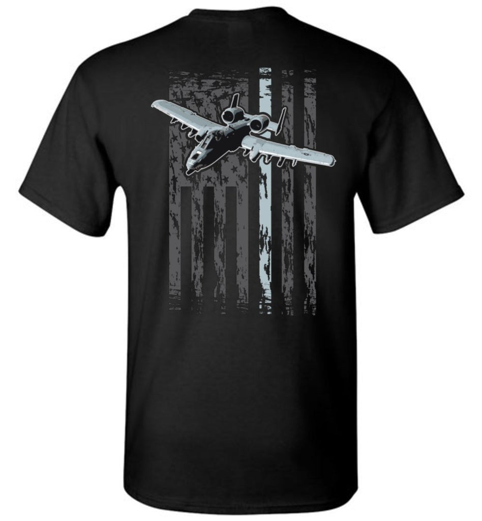 T-shirt - A-10 Warthog New Flag Shirt