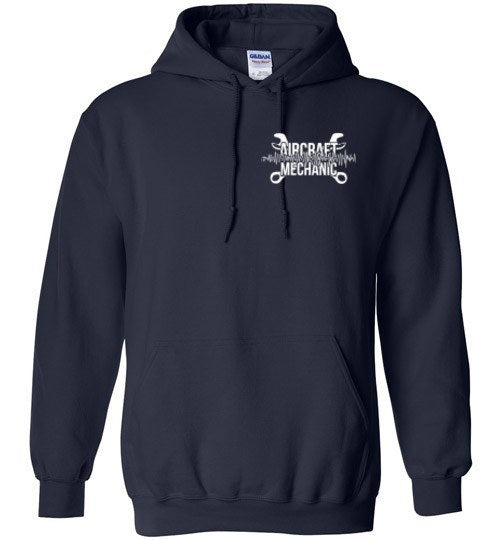 T-shirt - Aircraft Mechanic Brain Hoodie!