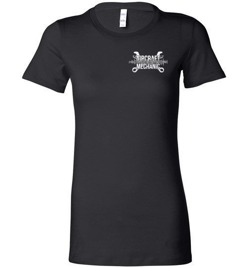 T-shirt - Aircraft Mechanic's Brain Women's Shirt!