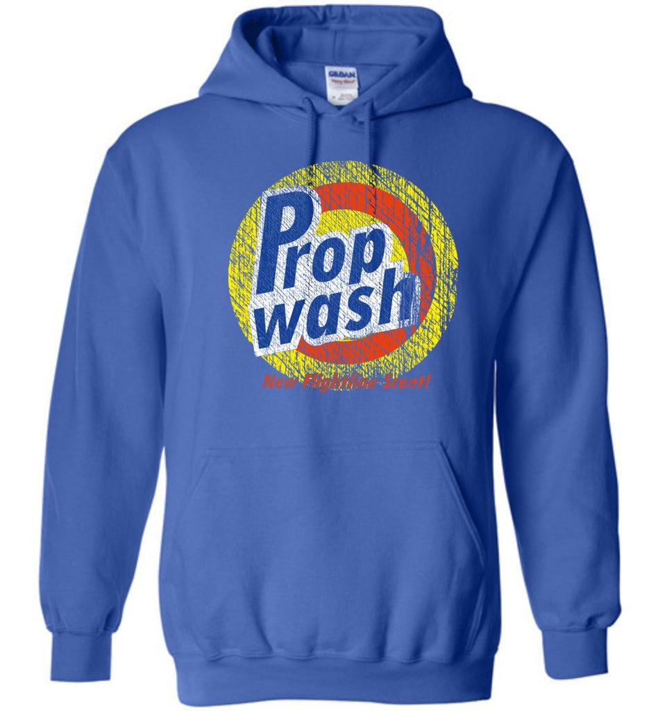 T-shirt - Aviation Prop Wash Hoodie