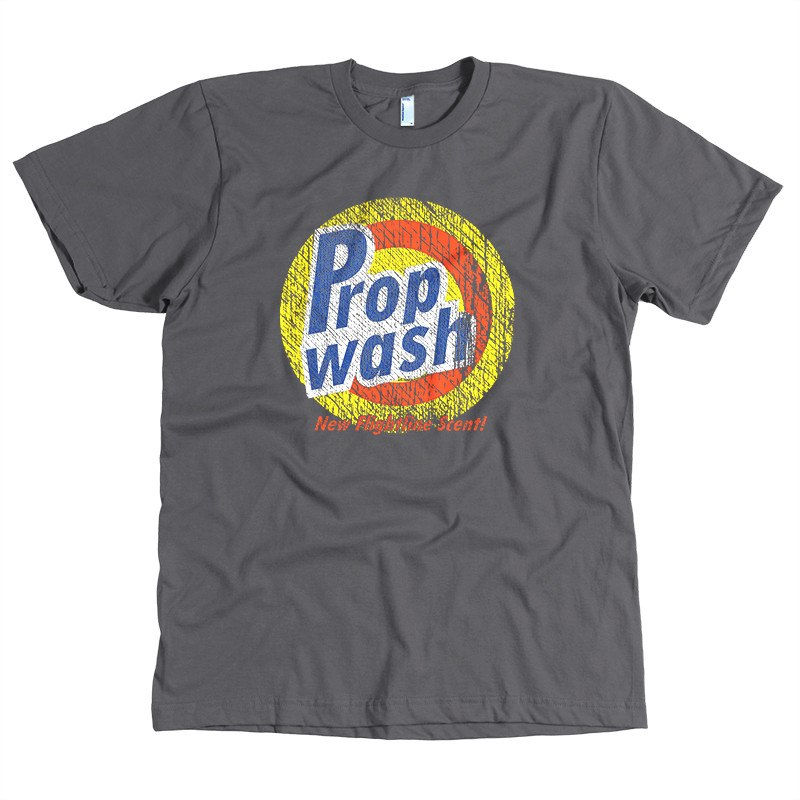 T-shirt - Aviation Prop Wash Shirt - New Flightline Scent!