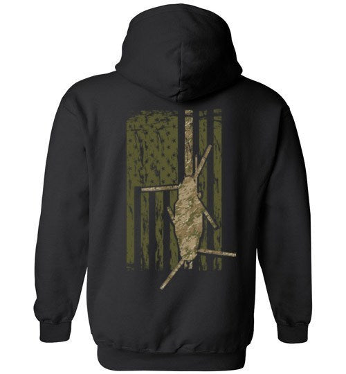 T-shirt - Awesome 160th Multicam MH-47 Flag Hoodie!