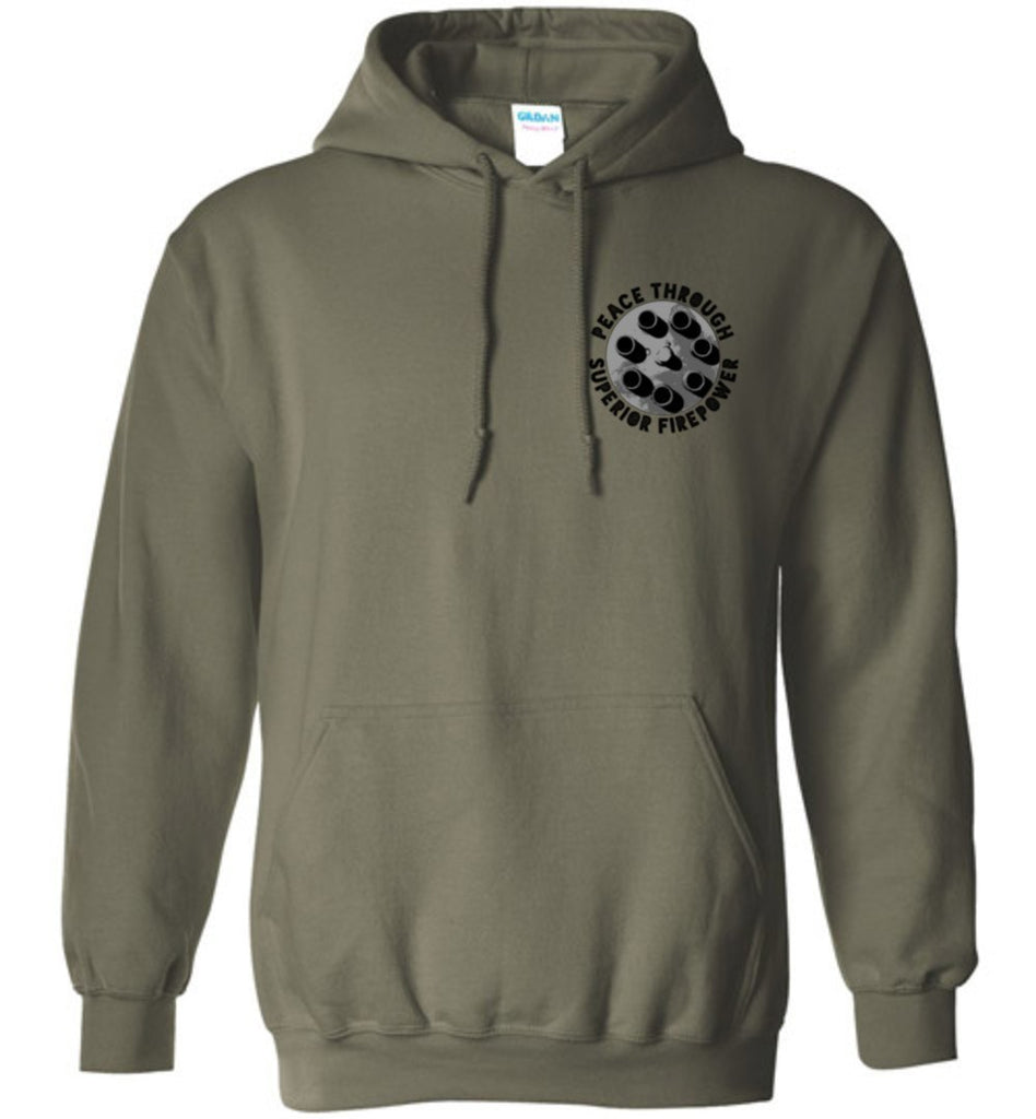 T-shirt - Awesome A-10 Flag Hoodie!