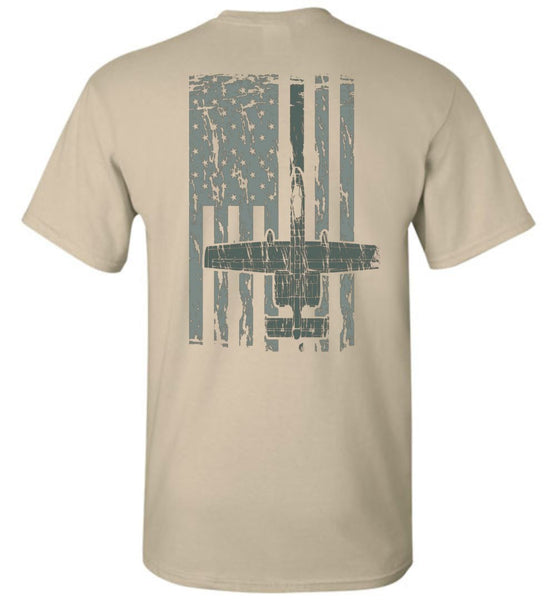 T-shirt - Awesome A-10 Flag Shirt!