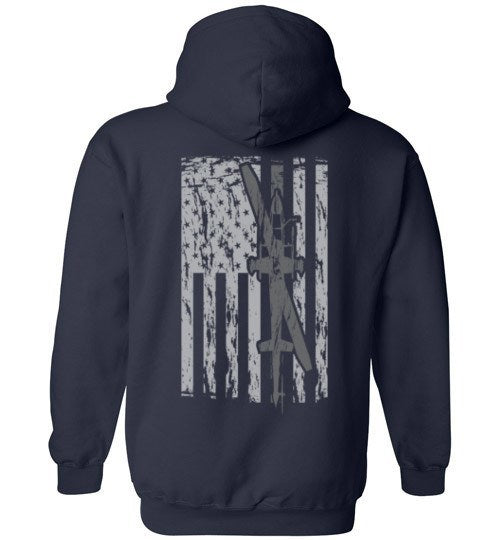 T-shirt - Awesome AH-1F Flag Hoodie!