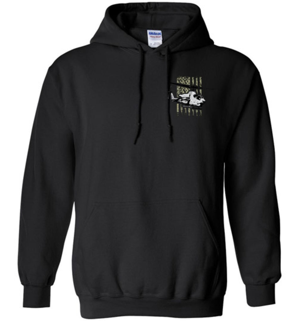 T-shirt - Awesome AH-1W And UH-1N Flag Hoodie!
