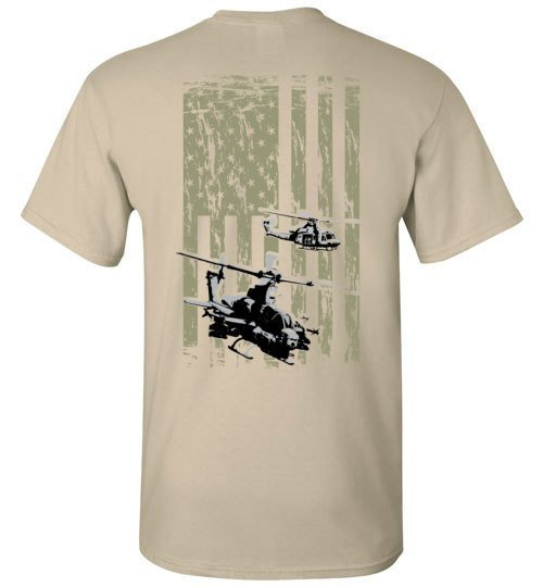 T-shirt - Awesome AH-1Z Flag Shirt!