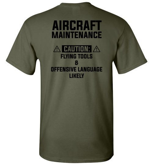 T-shirt - Awesome Aircraft Mechanic Safety Shirt!