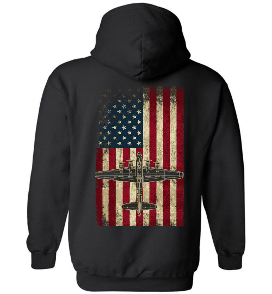 T-shirt - Awesome B-17 Flying Fortress Hoodie!